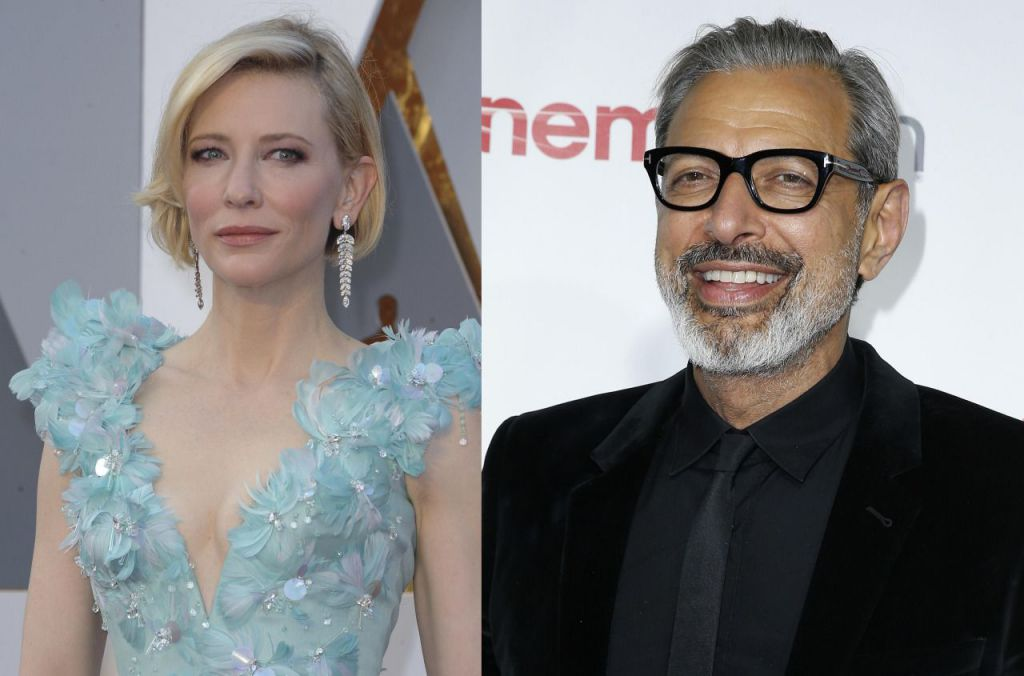 Cate-Blanchett-Jeff-Goldblum