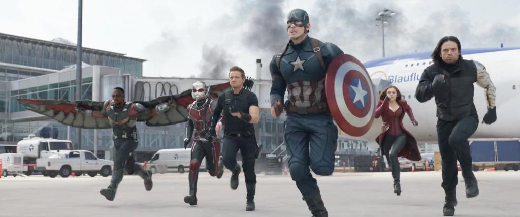 Captain America: Civil War Team