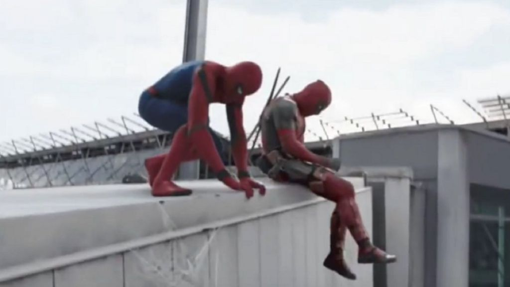 Deadpool and Spider-Man Team Up