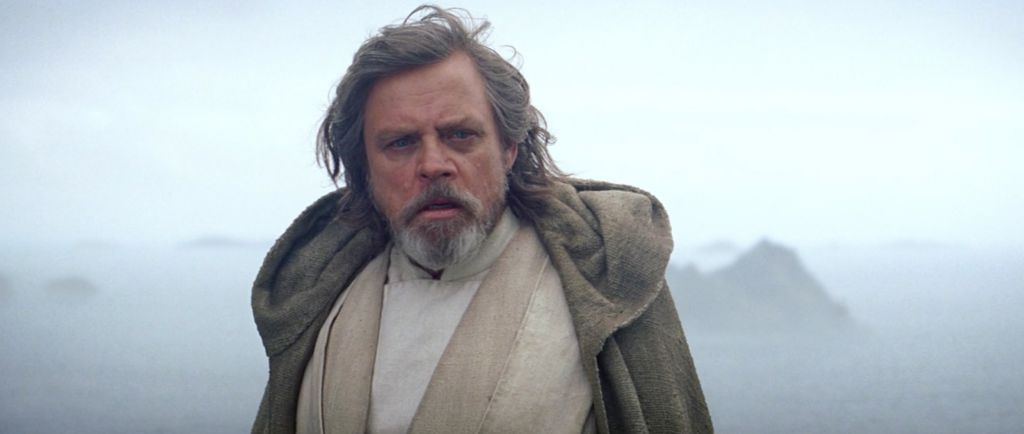 Mark Hamill in Force Awakens
