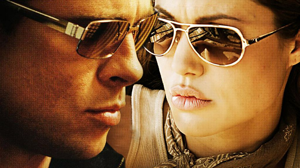 Mr. and Mrs. Smith Wallpaper
