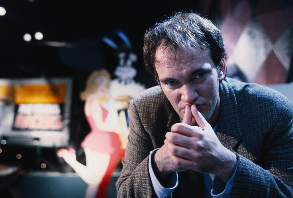Quentin Tarantino Pulp Fiction BTS