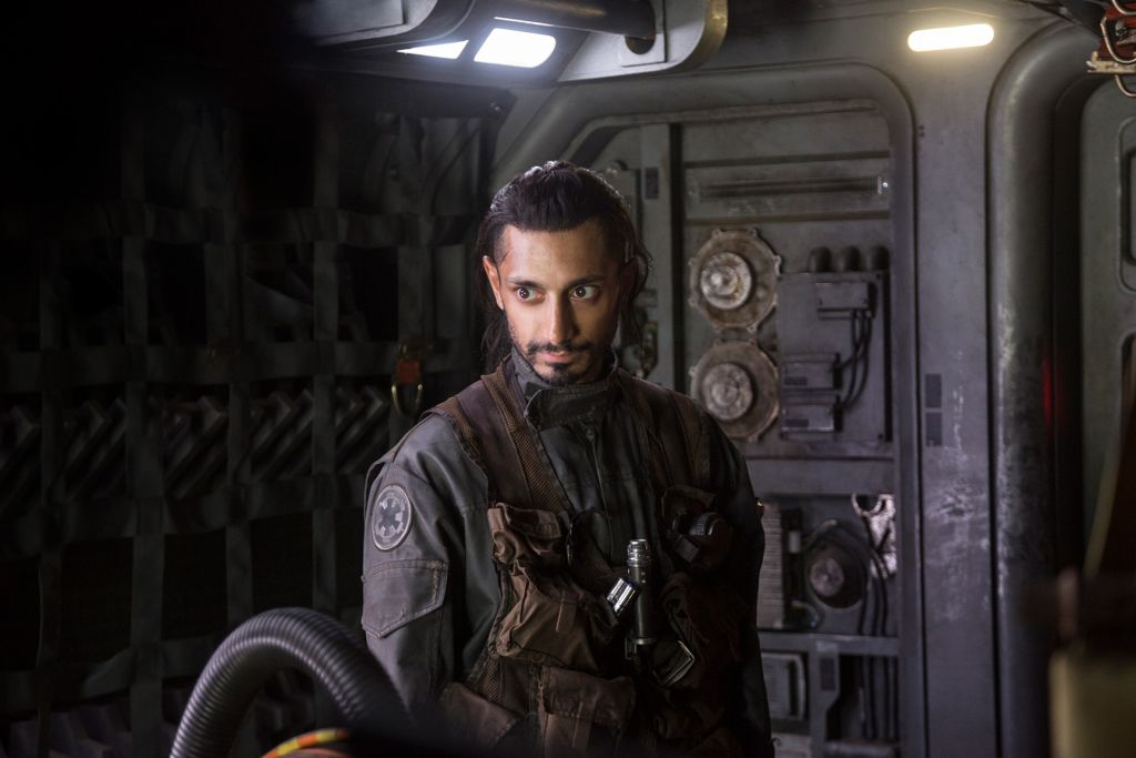 Riz Ahmed in Rogue One