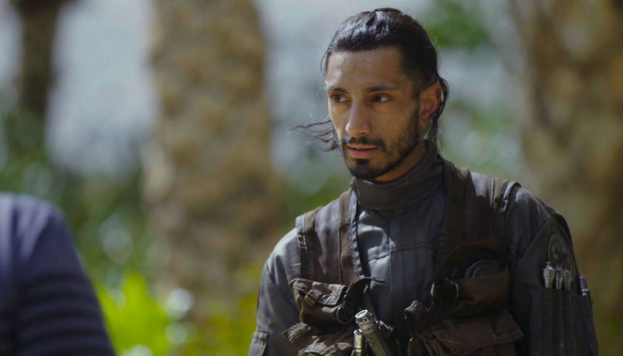 Riz Ahmed in Rogue One: A Star Wars Story