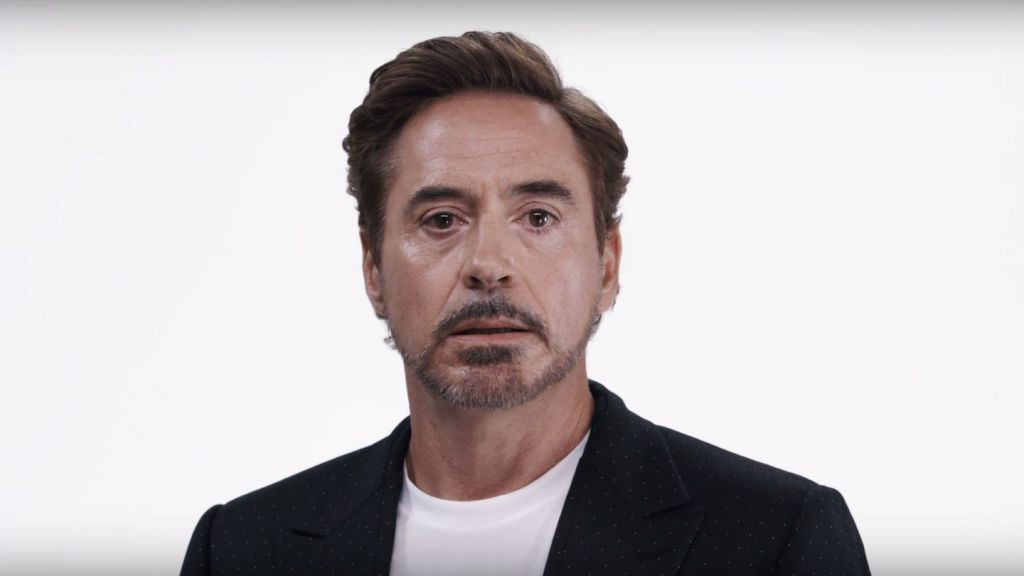 Robert Downey Jr. in the Save the Day Campaign