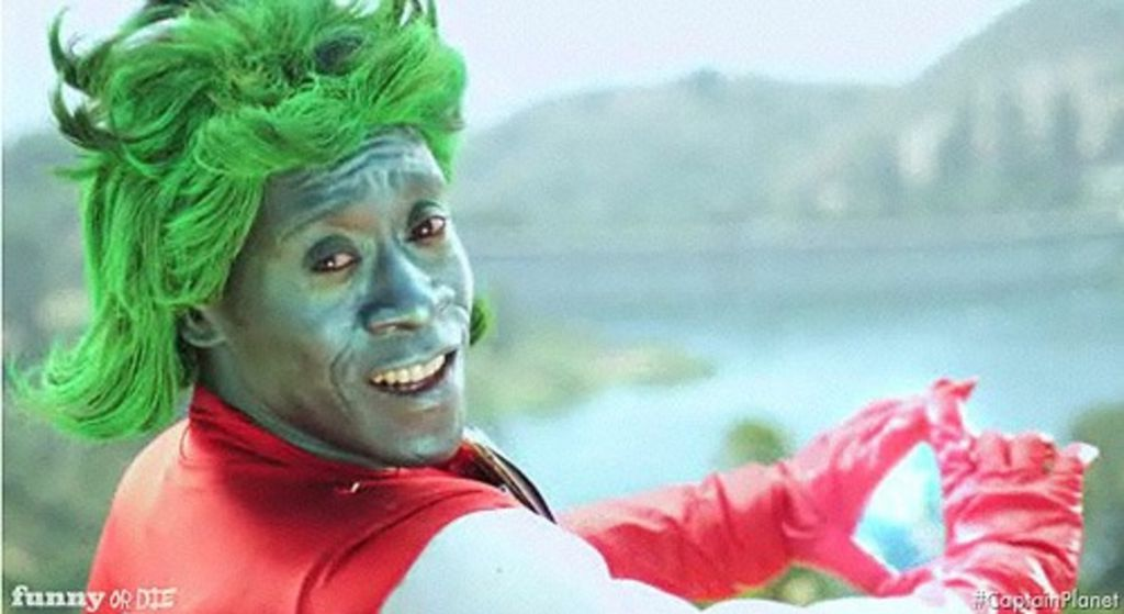 Don Cheadle Captain Planet