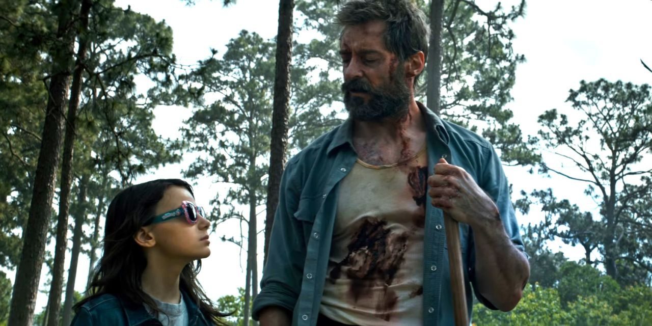 Wolverine and X-23 in Logan