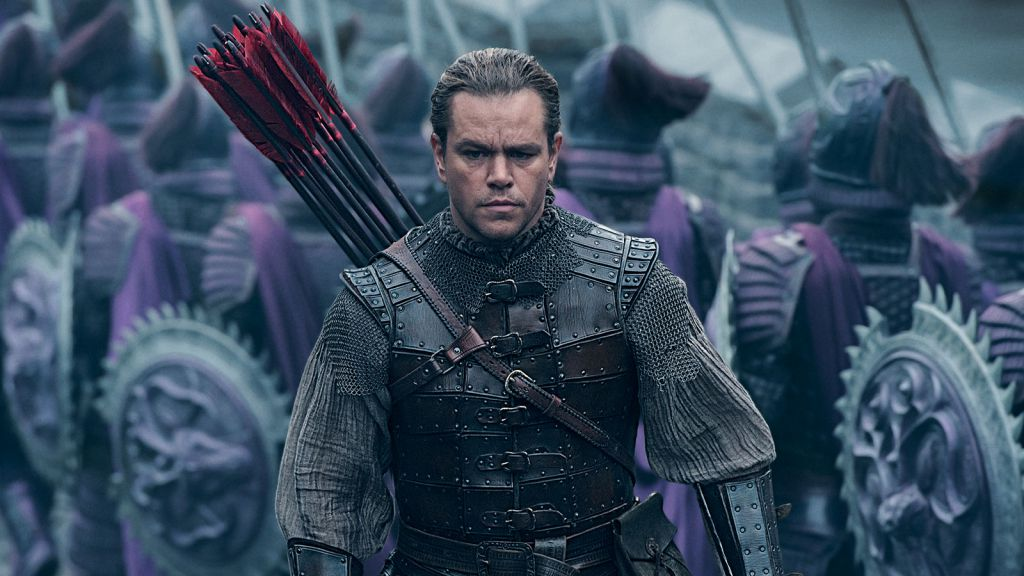 Matt Damon Great Wall