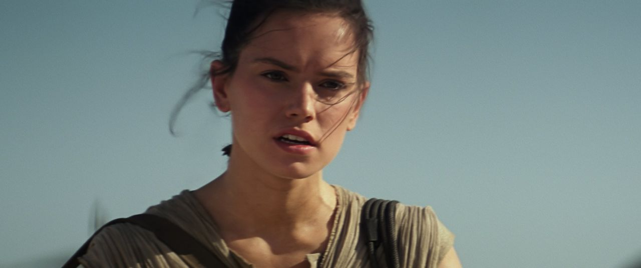Daisy Ridley in Force Awakens