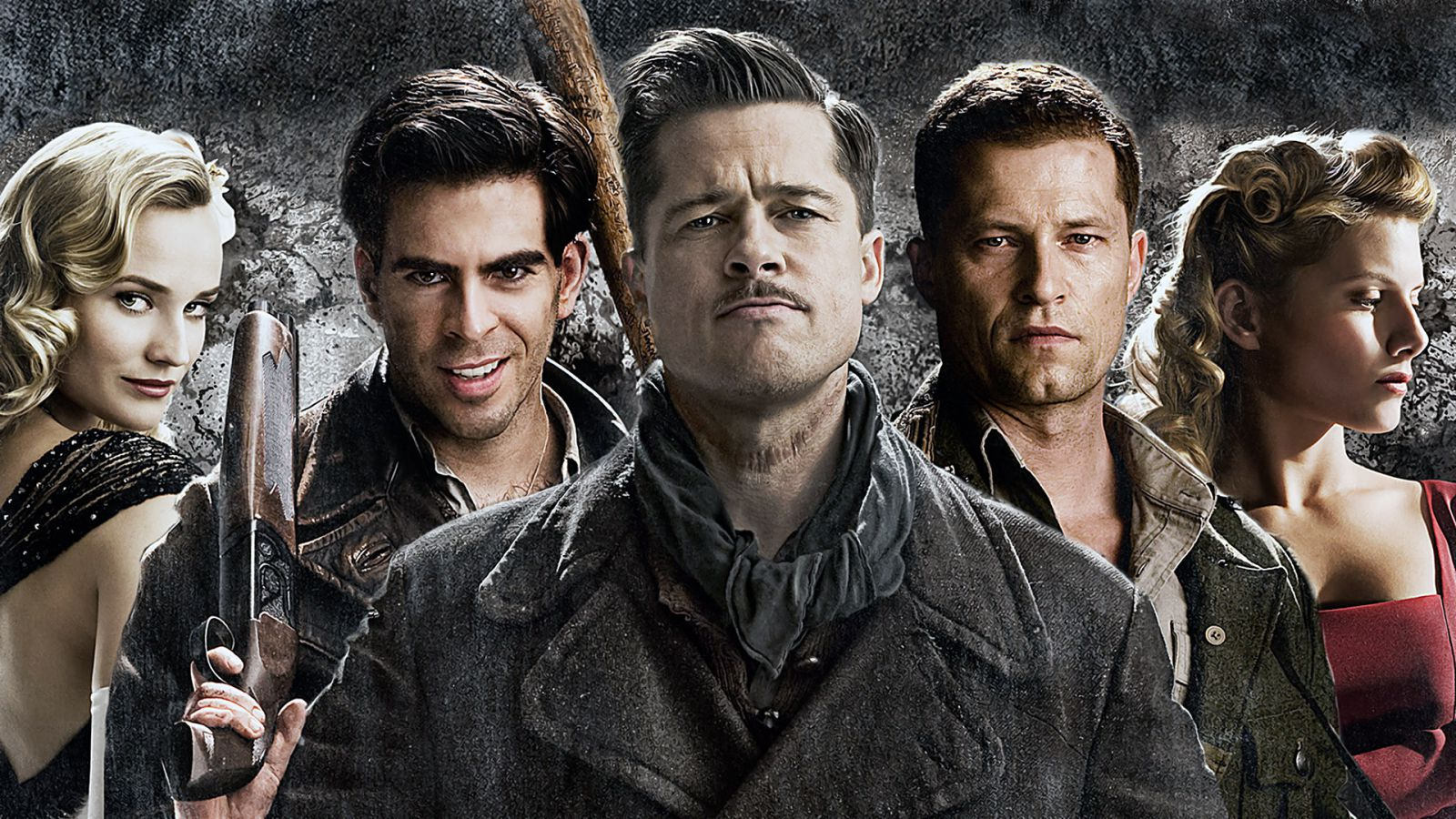 Inglourious Basterds Quad