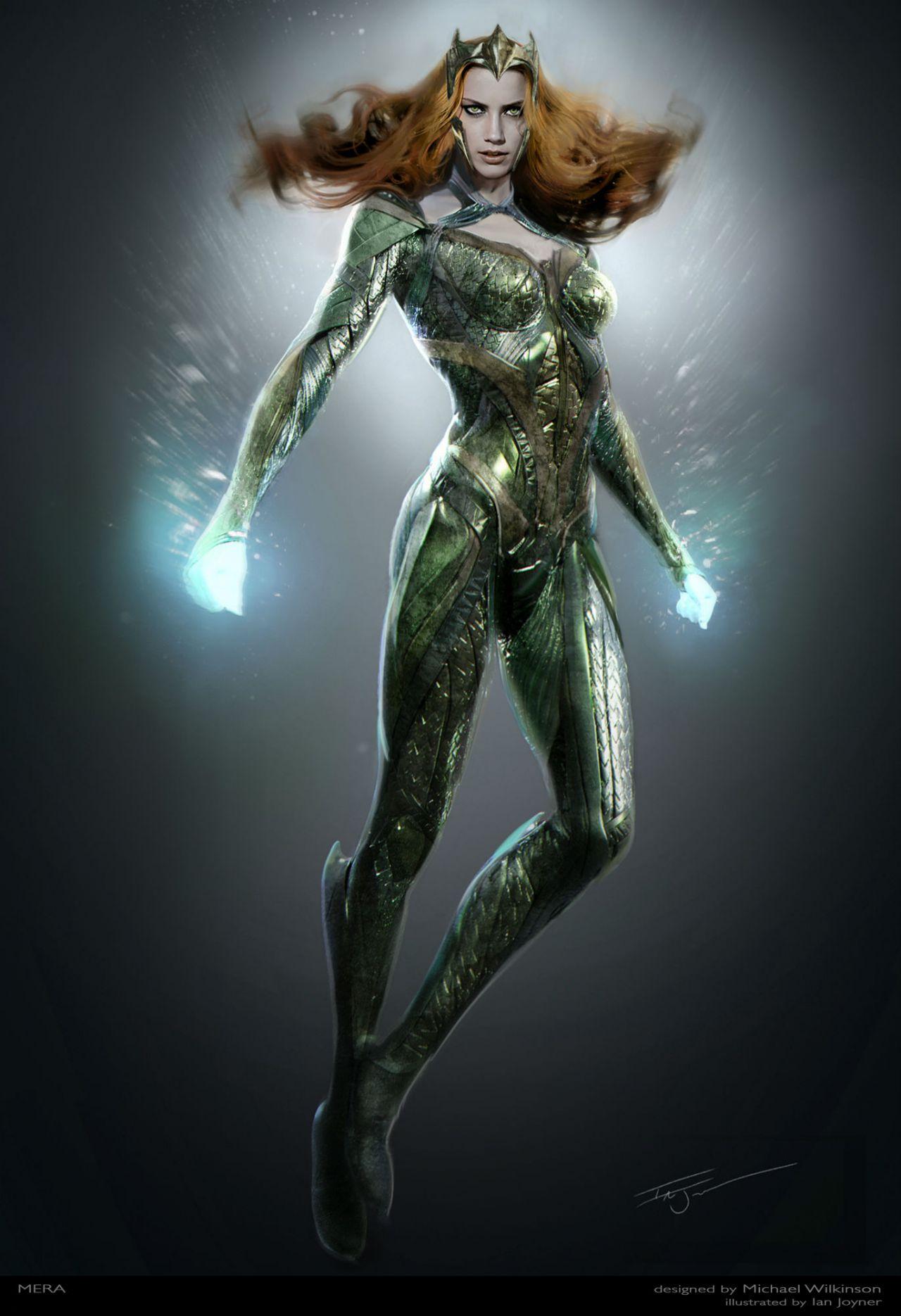 Justice League Mera Concept Art