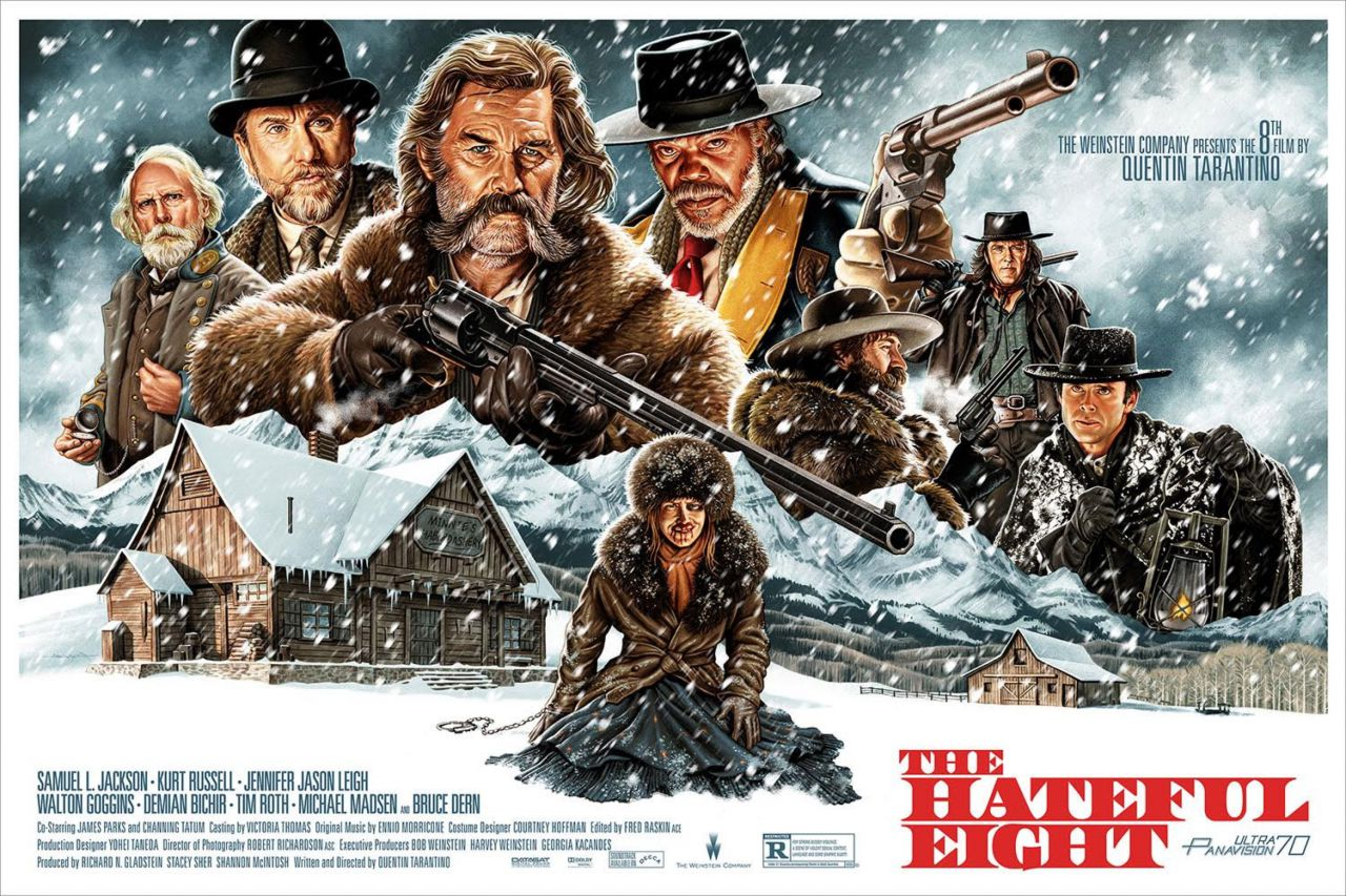 The Hateful Eight Quad Poster