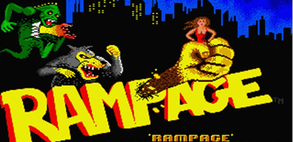 rampage video game logo