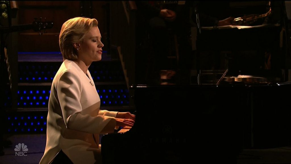 Kate McKinnon SNL Clinton Song
