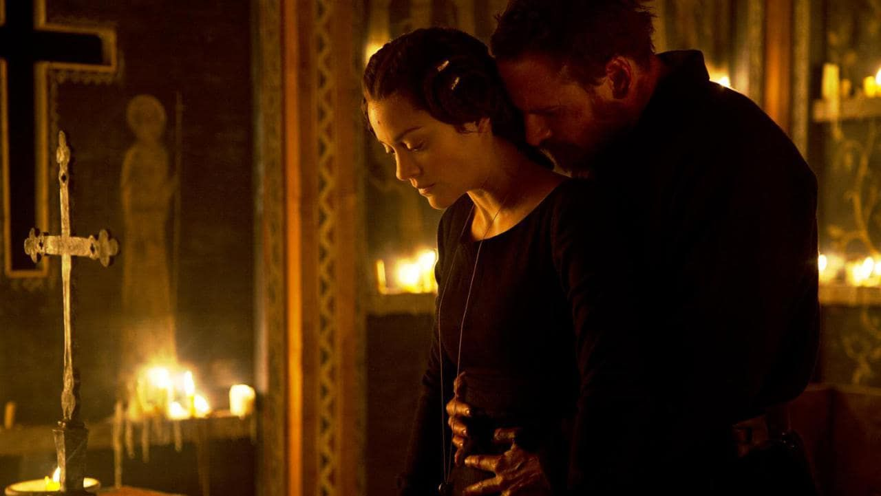 Cotillard and Fassbender in Macbeth