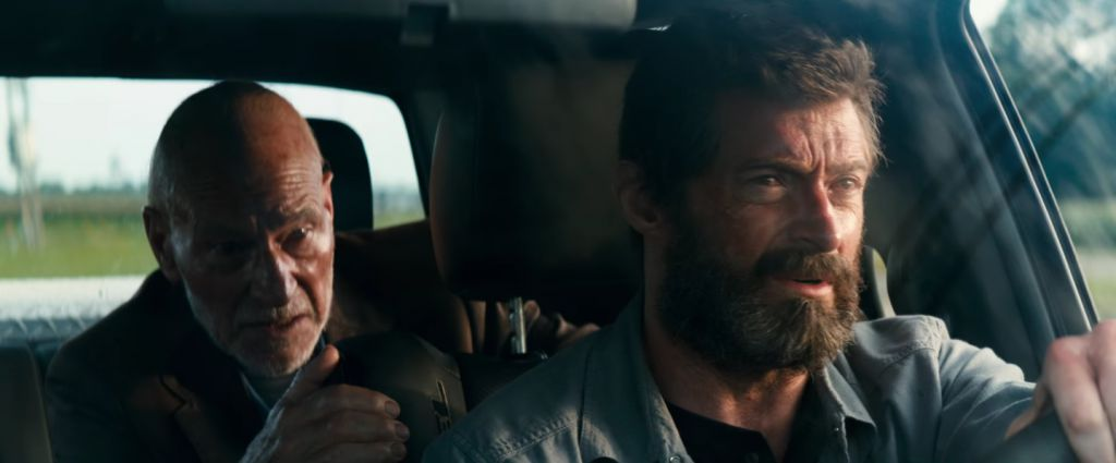 Professor X and Wolverine in Logan