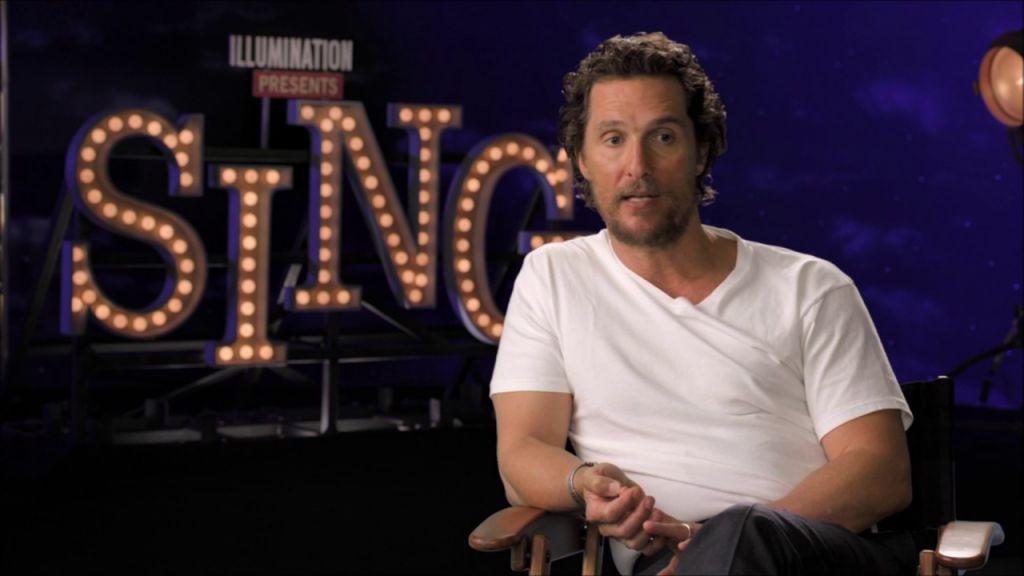 Matthew McConaughey Sing