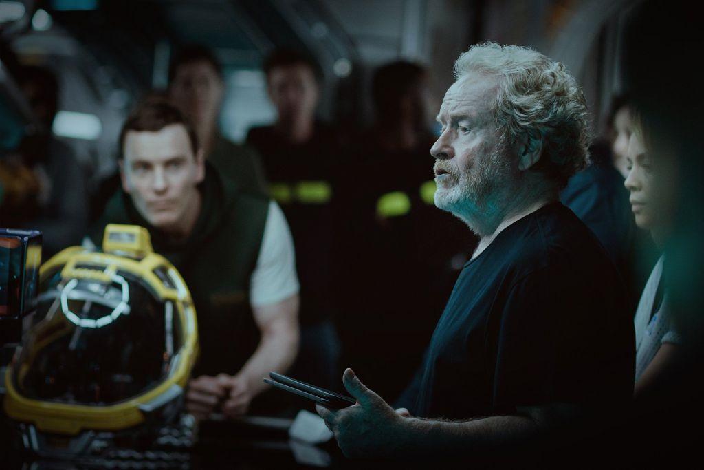 Ridley Scott Directing Alien Covenant