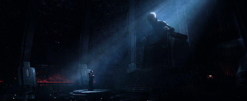 Snoke Star Wars The Force Awakens