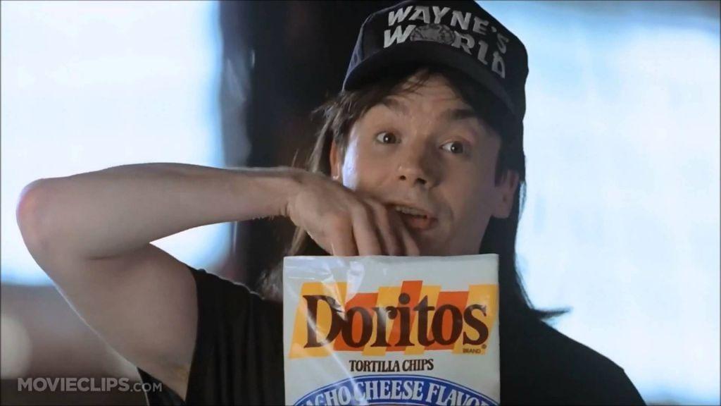 Wayne's World Dorito Ad