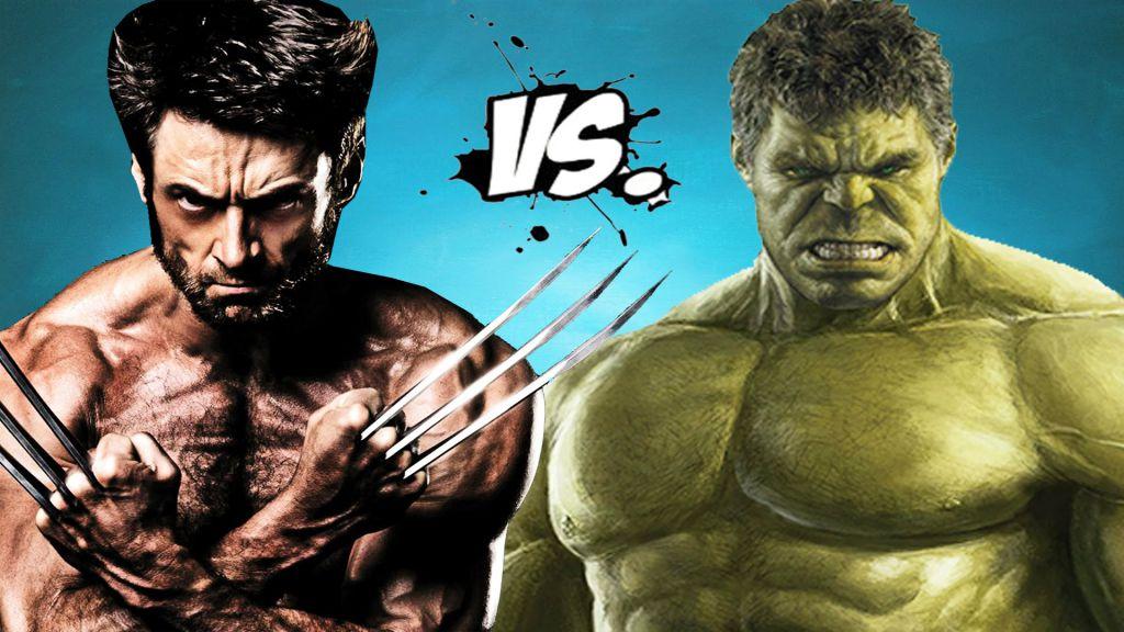 Wolverine v Hulk
