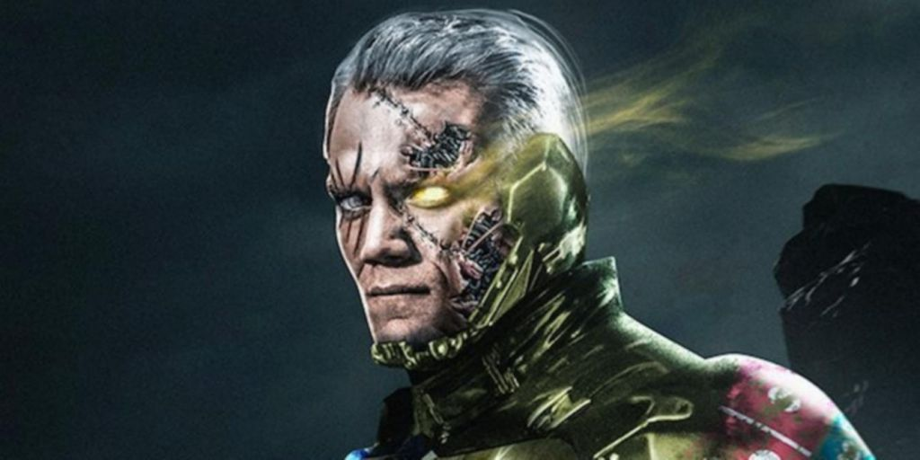 Michael Shannon as Cable Artwork