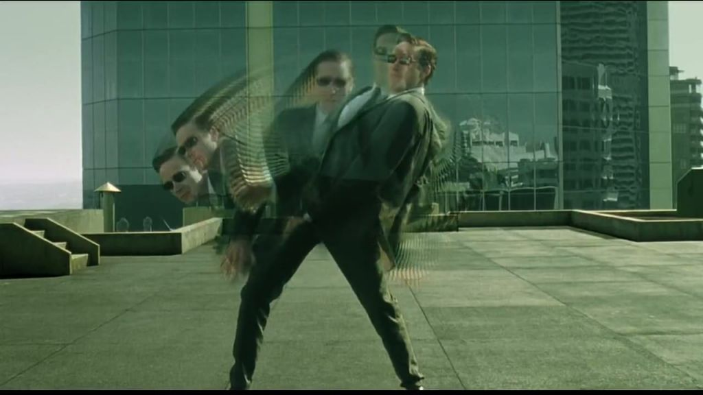 Agent Jones in The Matrix