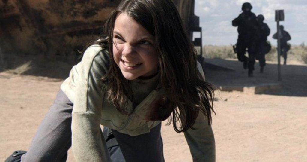 Dafne Keen as X-23 for Logan