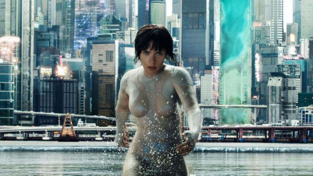 Ghost in the Shell Fight Scene
