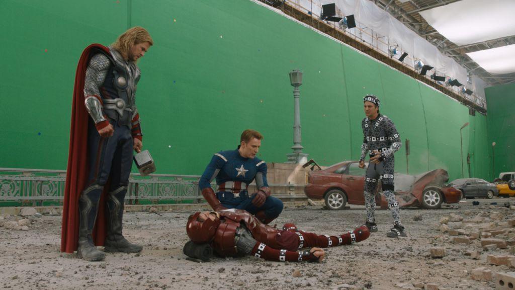 Marvel Avengers Green Screen