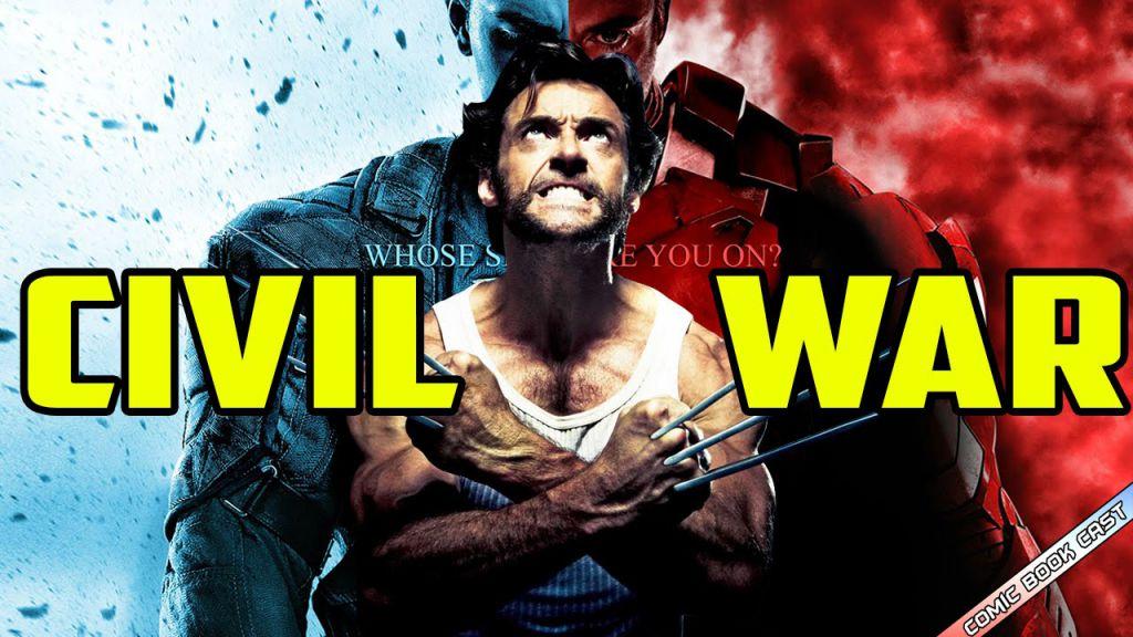 Marvel Wolverine Captain America