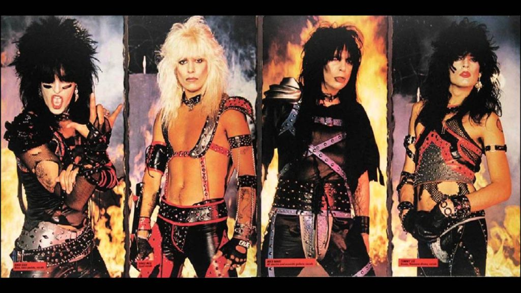 Motley Crue The Dirt Book