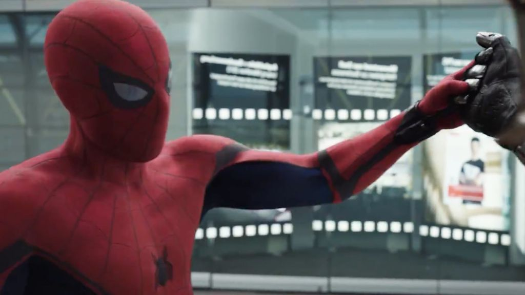 Spider-Man Cameo in Captain America Civil War