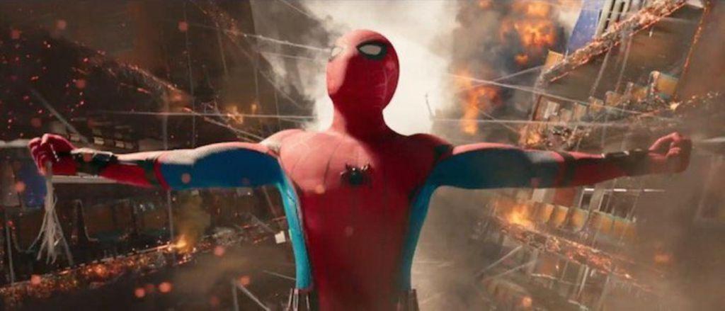 Spider-Man Homecoming Trailer Scene