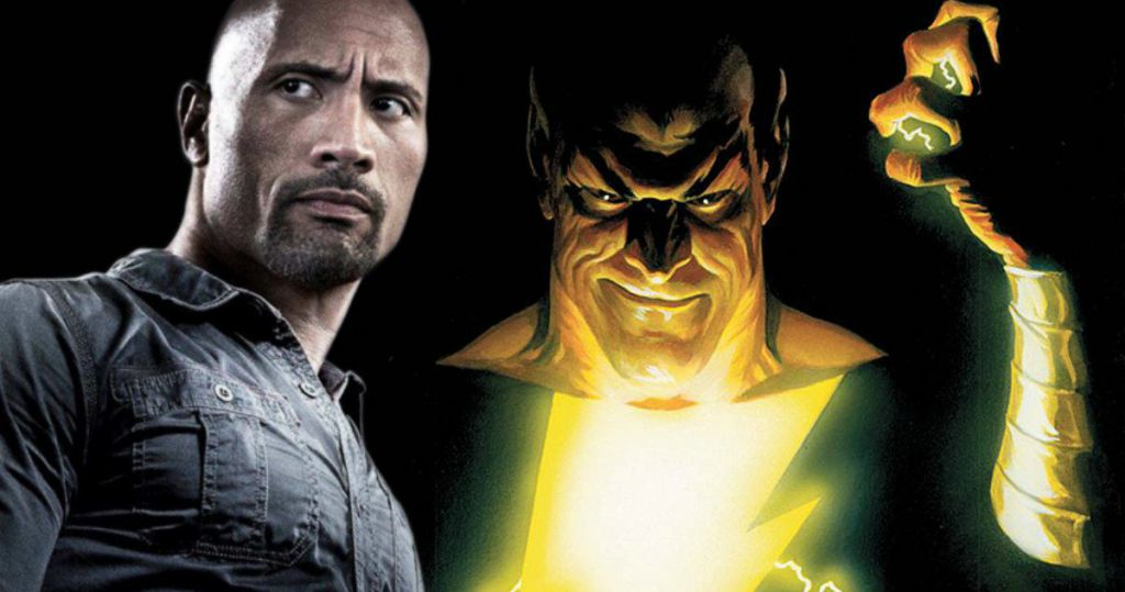 Black Adam Dwayen Johnson