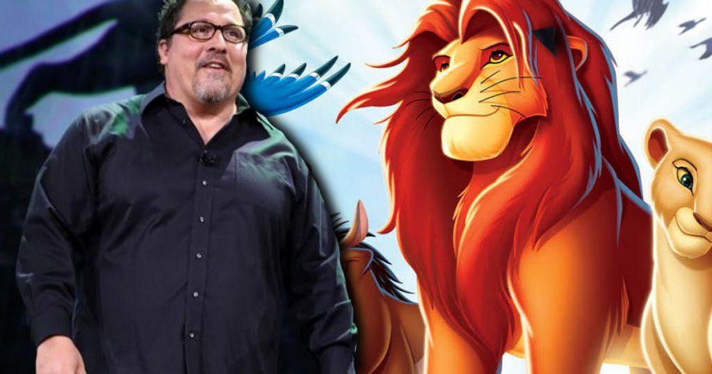 Jon Favreau Lion King Live Action Remake