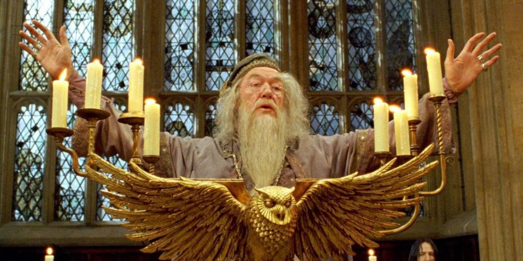 Michael Gambon as Professor Dumbledore
