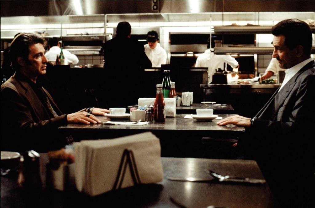 Robert De Niro and Al Pacino in Heat