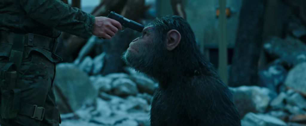 Woody Allen in War for the Planet of the Apes