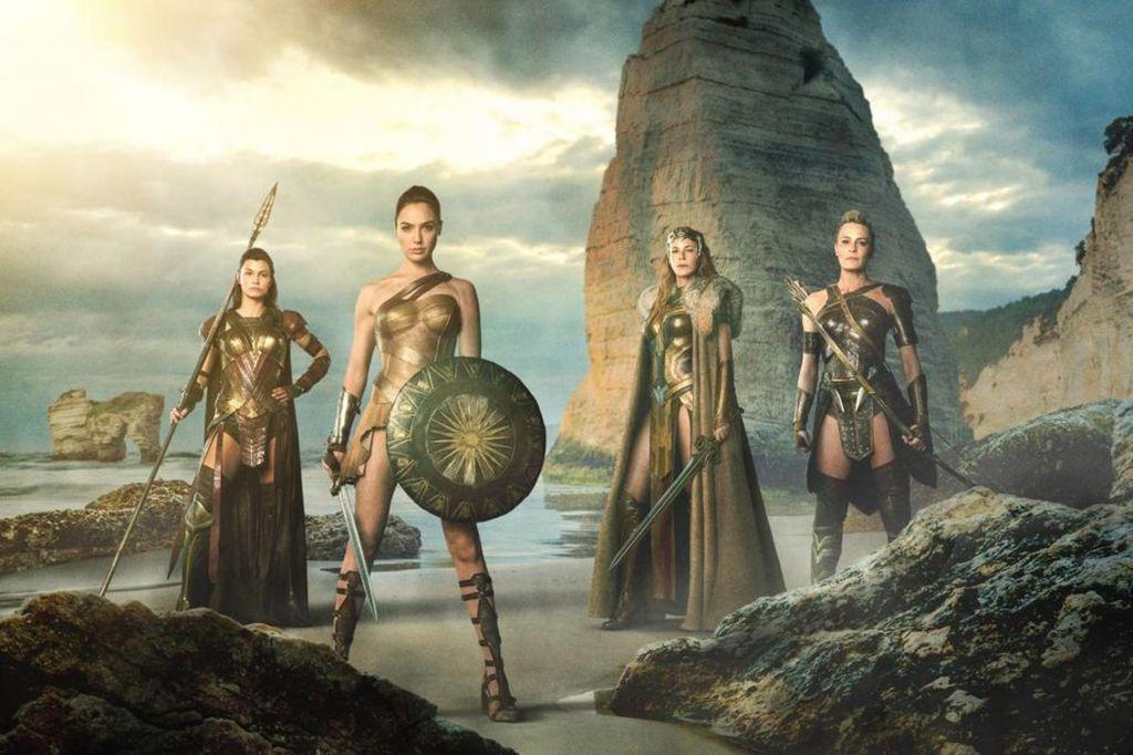 Wonder Woman Set Pic