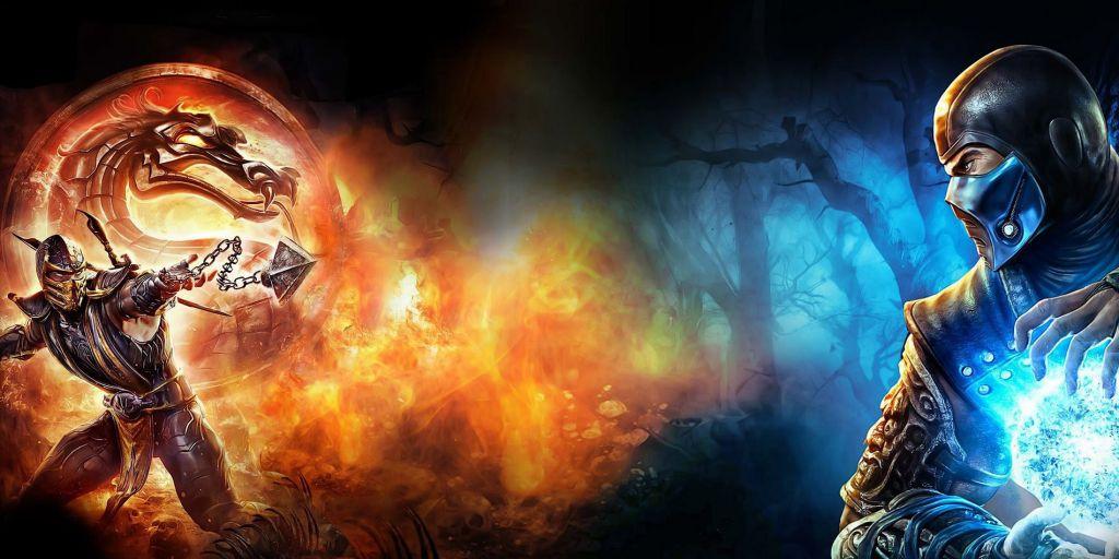 Scorpion and Sub Zero in Mortal Kombat