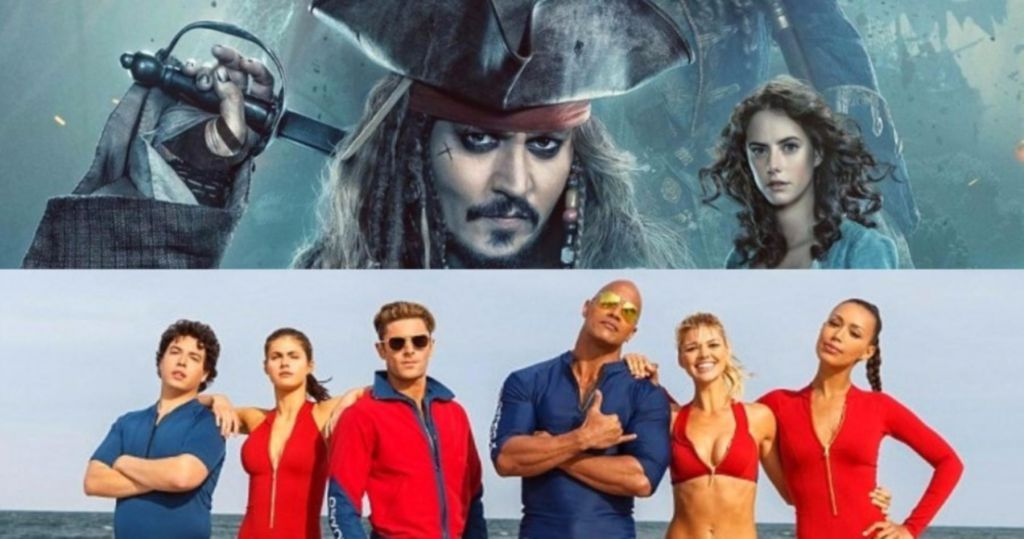 Pirates of the Caribbean and Baywatch Box Office