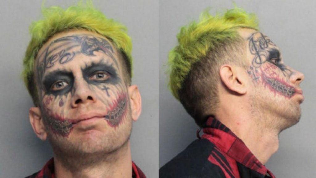 Joker Look Alike