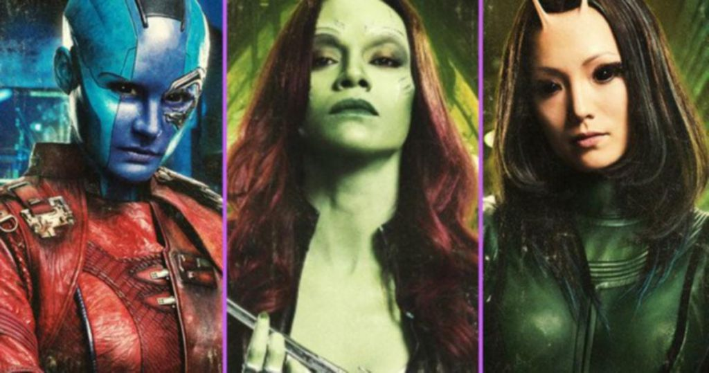 Female Guardians of the Galaxy Characters