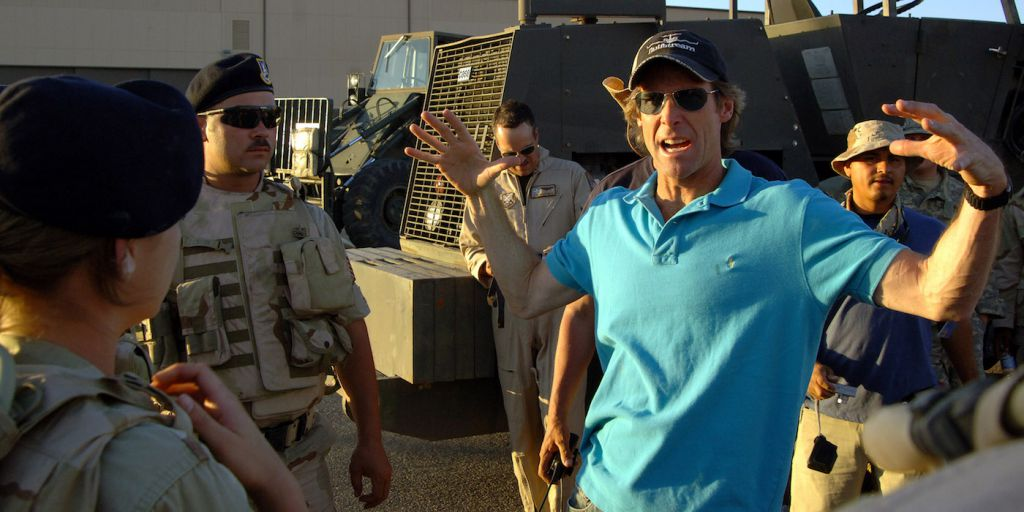 Michael Bay on Transformers The Last Knight Set