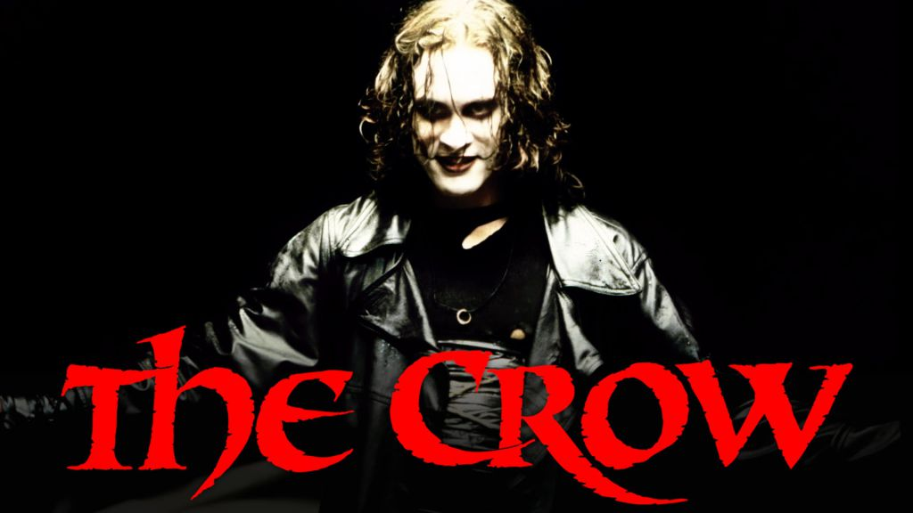 Brandon Lee in The Crow Poster