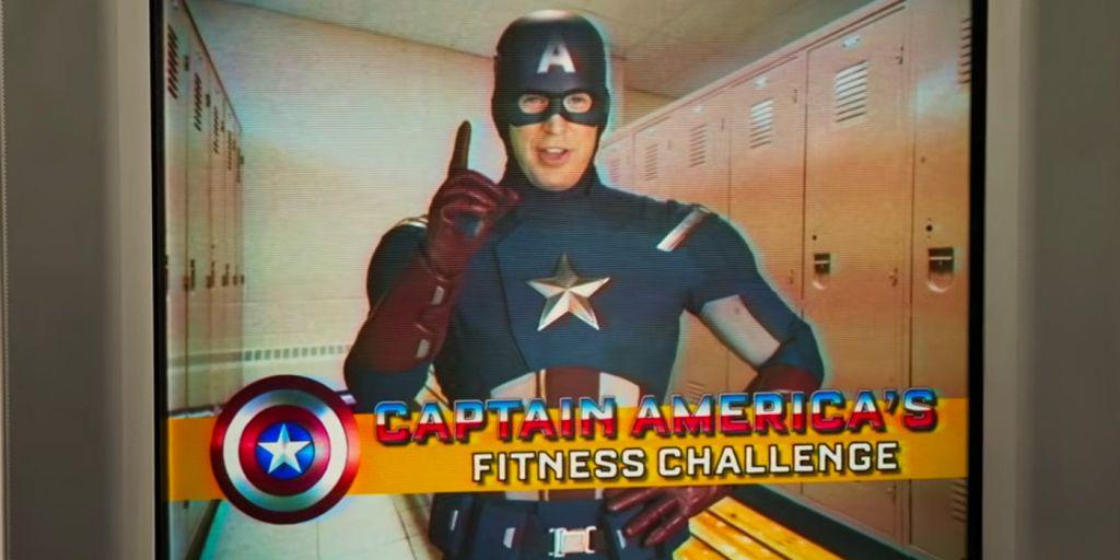 Captain America Fitness Challenge