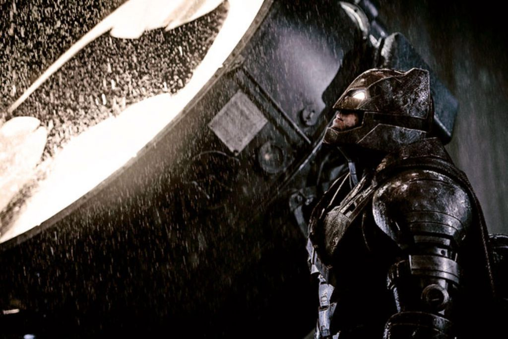 The Batman Bat Signal Ben Affleck