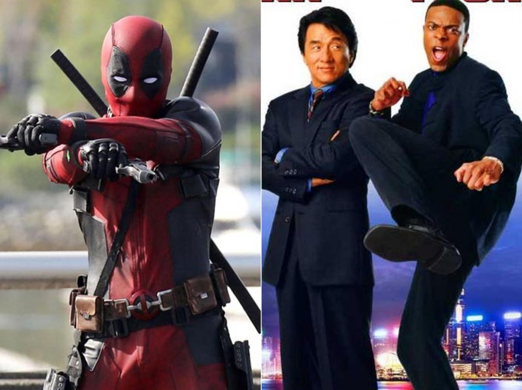 Deadpool Rush Hour