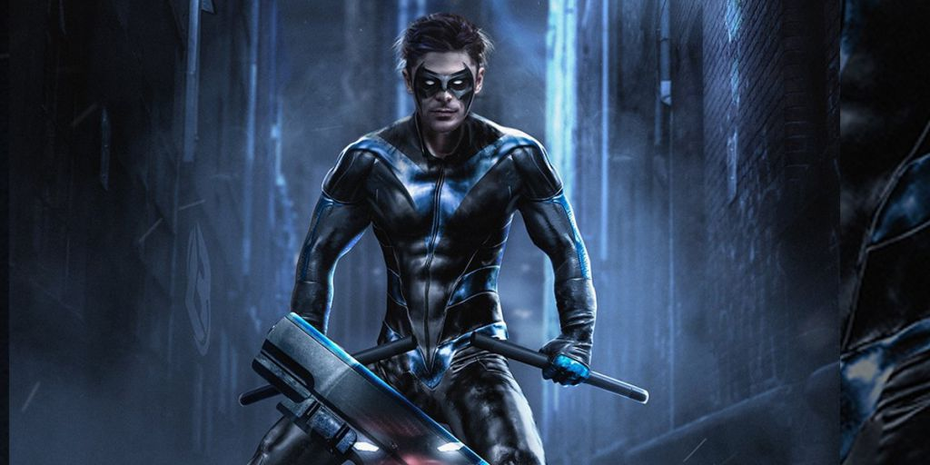 Zac Efron Nightwing for DC